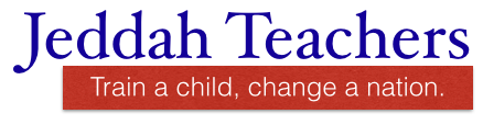 Jeddah Teachers - Train a child, change a nation.