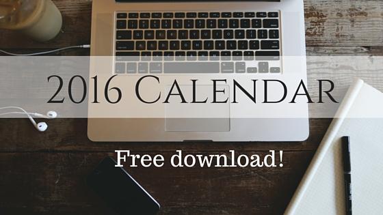 Jeddah Teachers 2016 Calendar (Black & White)